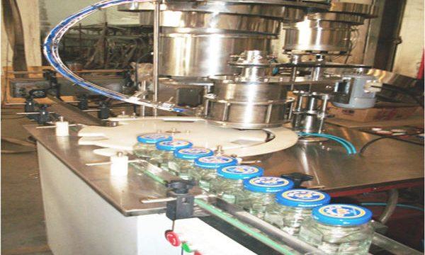 50-500ml خط پر کننده عسل ، دستگاه بطری عسل ، دستگاه بسته بندی عسل شیشه ای