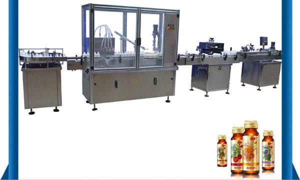 چین چین دستگاه پر کردن مایع بطری عسل اتوماتیک