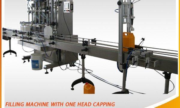 تجهیزات پر کننده نوع دستگاه پر کننده مایع خوراکی با قیمت پایین