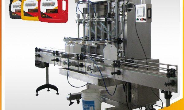 دستگاه پر کننده مواد شوینده مایع 500ml-2L / دستگاه پر کردن مایع شستشو