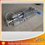 دستگاه پر کننده پیستون نیمه اتوماتیک دستگاه پر کننده روغن ایده آل