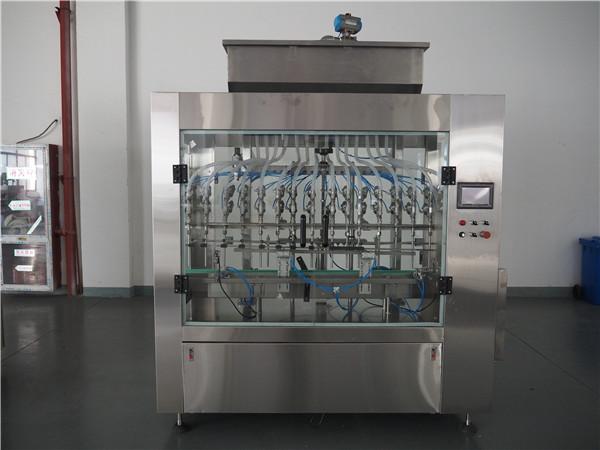 دستگاه پر کننده مایع فشار 12 اتمی اتوماتیک