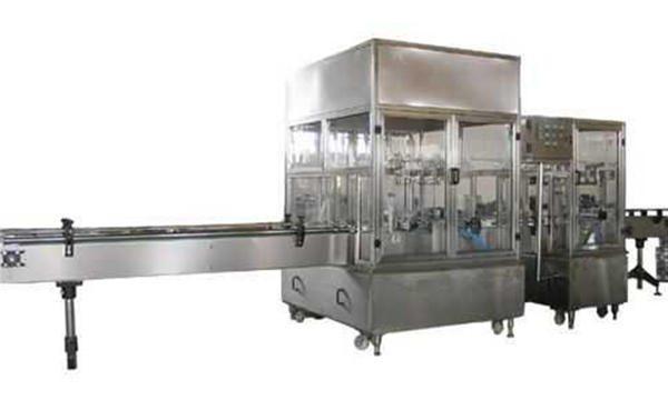 خط دستگاه پر کننده صابون مایع کاملاً اتوماتیک