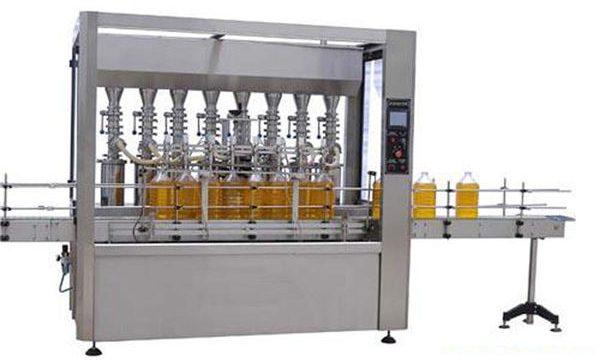 دستگاه پر کننده اتوماتیک روغن کاری / روغن پر خوراکی با دقت بالا 2000ml-5000ml