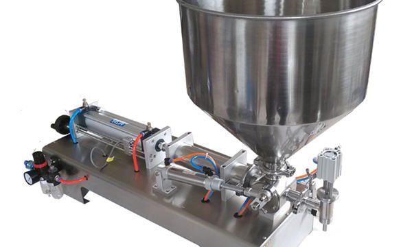 دستگاه پر کننده عسل شیشه پیستون نیمه اتوماتیک