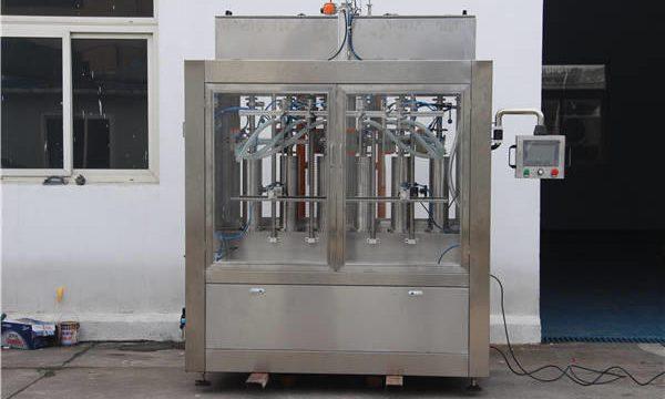دستگاه پرکن بطری جامد اتوماتیک
