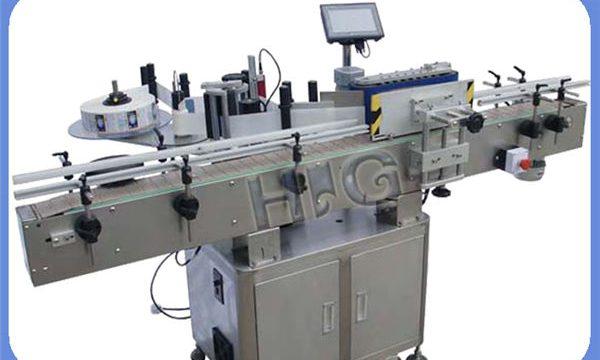 تولید کننده ماشین برچسب زدن بطری دور NPACK اتوماتیک با چاپگر