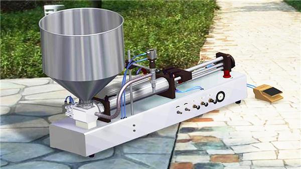دستگاه پرکن مایع شوینده نیمه اتوماتیک