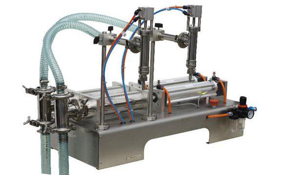دستگاه پر کننده صابون مایع نیمه اتوماتیک ساشه