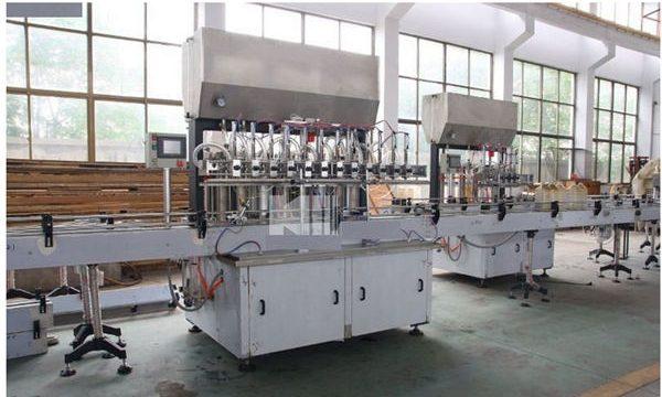شرکت تولید ماشین آلات پر کننده شامپو با کیفیت بالا
