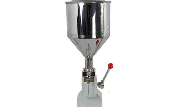 دستگاه پر کننده کرم با دست کوچک