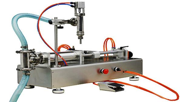 دستگاه پر کننده کرم پنوماتیک دو سر 100-1000ml
