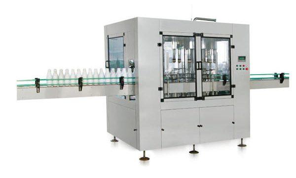دستگاه پر کننده صابون مایع پیستونی هشت سر اتوماتیک