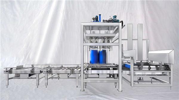 قابل تنظیم ESDF سری 100-1000L ظرفیت پر کردن درام بزرگ درام بزرگ