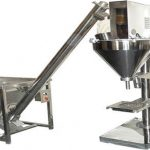 دستگاه پرکننده پودر خشک نیمه اتوماتیک
