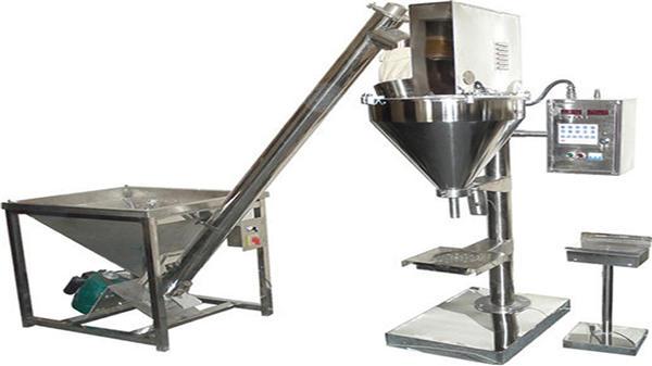 دستگاه پر کننده پودر خشک نیمه خودکار