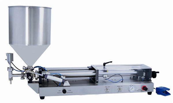 دستگاه پرکننده نیمه خمیر نیمه اتوماتیک برای 3mL-5L
