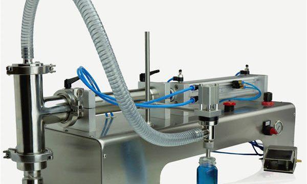 دستگاه پر کردن پیستون نیمه اتوماتیک با کیفیت بالا طراحی جدید