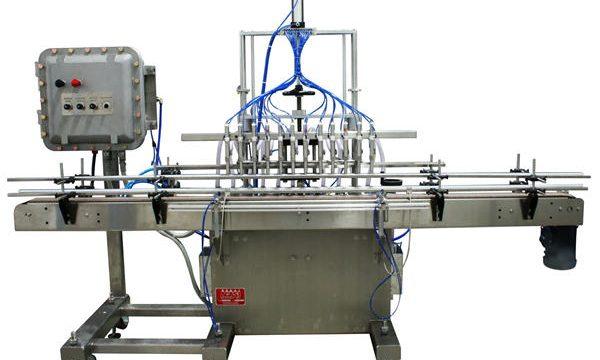 دستگاه پر کننده خودکار پیستون 50ml-1L