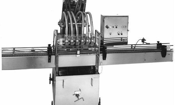 دستگاه پر کننده روغن نباتی پیستون کنترل شده PLC