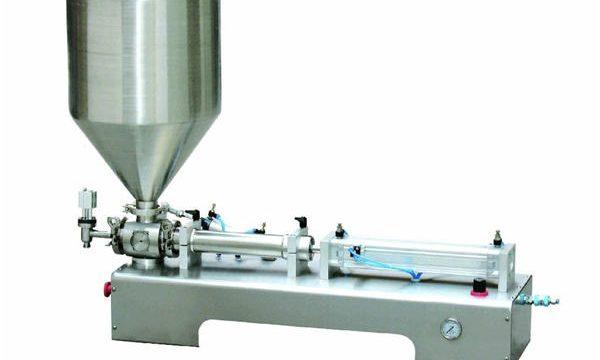 دستگاه پرکننده لوسیون نیمه اتوماتیک کالامین / دستگاه پر کردن پیستون بطری مایع