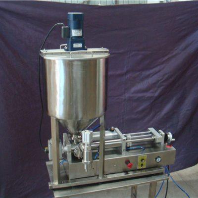 2 سر دستگاه پر کننده مایع نیمه اتوماتیک