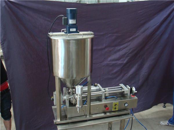 دستگاه پرکن مایع نیمه اتوماتیک