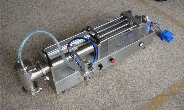 تولید کننده دستگاه پر کننده شامپو نیمه اتوماتیک
